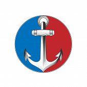image of anchor  - Anchor emblem - JPG