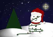 Snowman Tangle