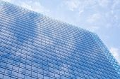 stock photo of high-rise  - The high rise building and sky in downtown - JPG
