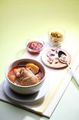 picture of curry chicken  - mussaman curry - JPG