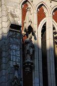 foto of kiev  - Detail of the catholic church of St - JPG
