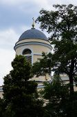 picture of kiev  - The domes of the main catholic cathedral in Kiev Ukraine - JPG