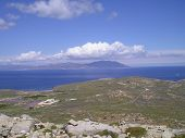 View On The Isle Tenos From Delos