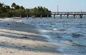 Riverside Beach And Pier