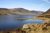 Loch Turret In Perthshire, Scotland 3