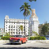 Automóvil antiguo, la Habana, Cuba