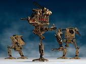 Mechanical Warriors