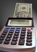 Calculator Printing Money