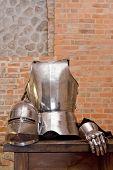 Medieval armor.