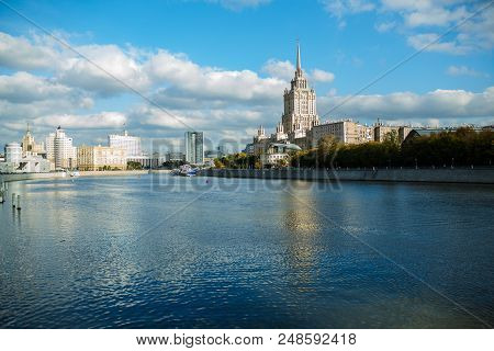 View On The Moscow River