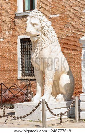 Piraeus Lion Ancient Greek Lion