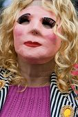 Máscara de mujer