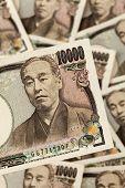japanische Yen-Rechnungen.