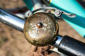 Retro Style Bicycle  Bell. poster