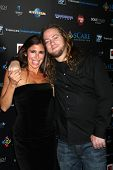 LOS ANGELES - OCT 30:  Felissa Rose; Darren Miller arrives at the sCare Foundation Halloween Launch Benefit at Conga Room - LA Live on October 30, 2011 in Los Angeles, CA