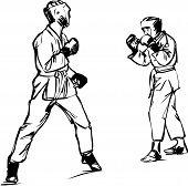 Karate Kyokushinkai esbozo artes marciales y deportes de combativas