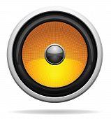 Car Loudspeaker Icon