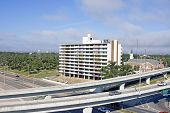 image of katrina  - The large condo was full of people when Katrina stormed ashore and gutted out the building - JPG