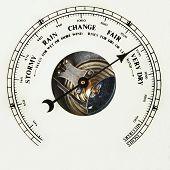 Barometer Dial Very Dry