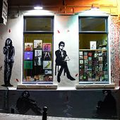 jef aerosol street art in Bruxelles