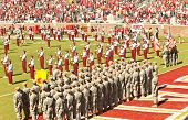 Military Appreciation Day At Doak Campbell Stadium