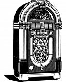 Jukebox 2 - Retro Clipart Illustration