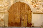 Medieval Wood Italian Door