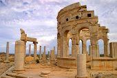 Leptis Magna Market