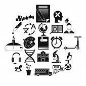 New Discoveries Icons Set. Simple Set Of 25 New Discoveries Vector Icons For Web Isolated On White B poster