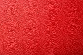 Red Textured Leather Background. Abstract Leather Texture poster