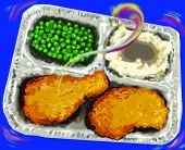 Fried Chicken Tv Dinner