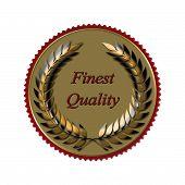 Laurel Wreath Seal Of Quality