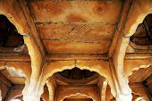 image of crematory  - Bada Bagh Cenotaph in Jaisalmer - JPG