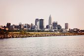Cleveland From Lake Erie