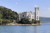 Miramare Castle In Trieste