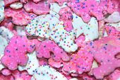 Animal Cookies With Sprinkles poster