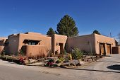 pic of hacienda  - Adobe home of Las Cruses New Mexico - JPG