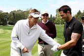 LOS ANGELES - APR 15:  Jack Wagner, Jesse Metcalfe at the Jack Wagner Celebrity Golf Tournament  at