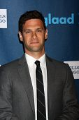 LOS ANGELES - APR 20:  Justin Bartha arrives at the 2013 GLAAD Media Awards at the JW Marriott on Ap
