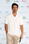 LOS ANGELES - APR 15:  Brandon Beemer at the Jack Wagner Celebrity Golf Tournament benefitting the L