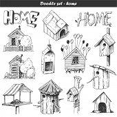 Doodle vector set -