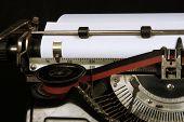 Typewriter Closeup