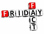3D Friday Fact Crossword