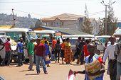 Busy Kigali Rwanda