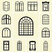 Ícones de janela