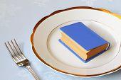 Buch zum Abendessen