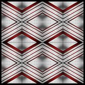 Modular Red And Metal Template