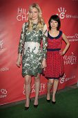 LOS ANGELES - APR 25:  Garfunkel & Oates aka Riki Lindhome, Kate Micucci arrives at the Second Annua