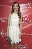LOS ANGELES - APR 25:  Ahna O'Reilly arrives at the Second Annual Hilarity For Charity benefiting Th