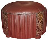Leather Tabouret